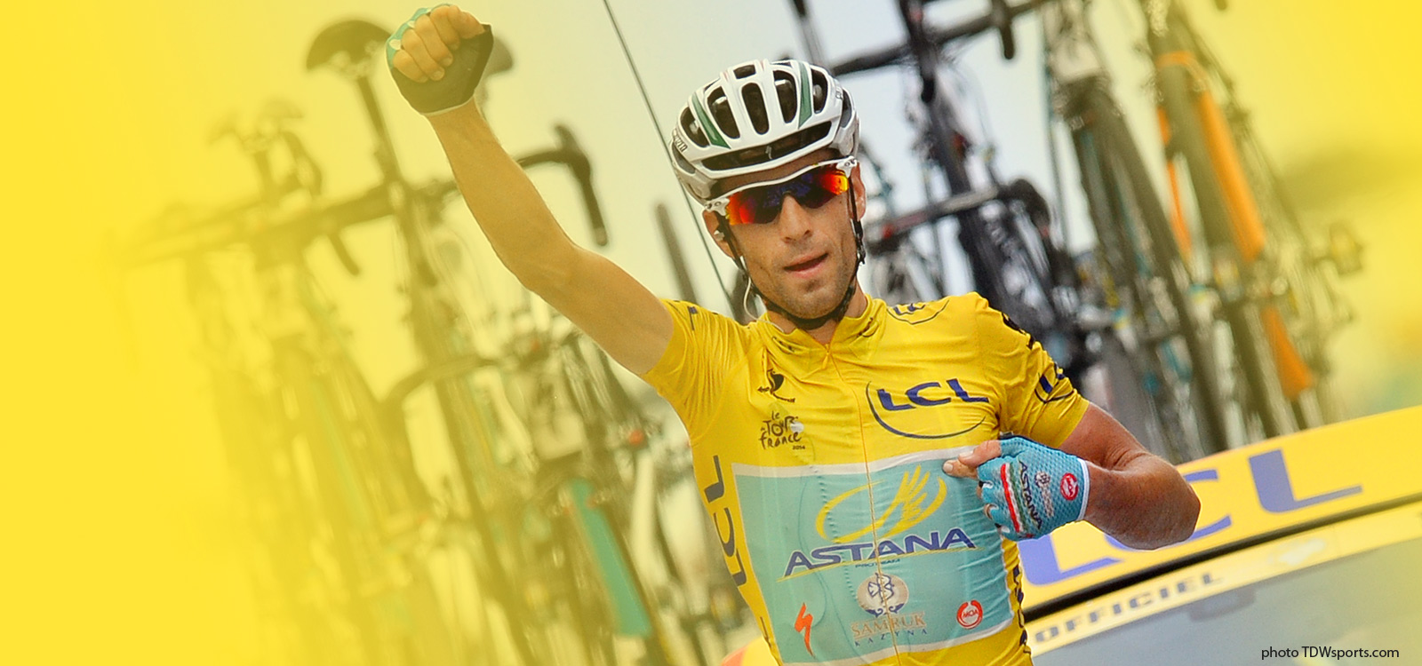 Nibali wins the second stage of the Tour de France
