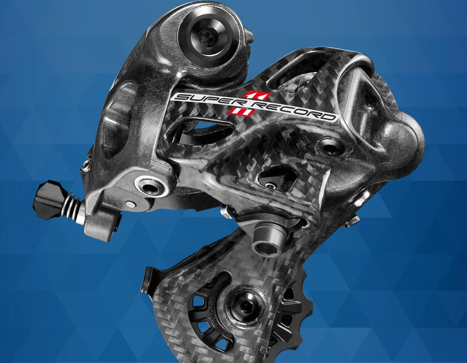 Rear derailleur Super Record - slideshow 1