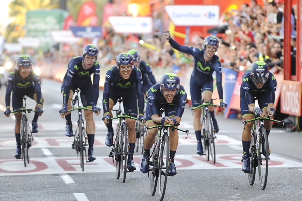 Movistar Team complete most successful season