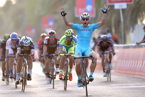 Guardini wins Abu Dhabi Tour stage 1