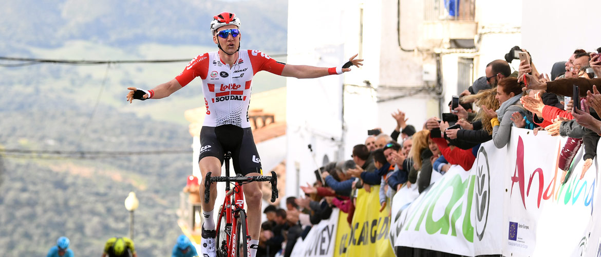 Wellens wins Ruta del Sol stage 1