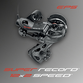 Gruppo elettronico Campagnolo Super Record EPS 12x2 speed