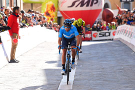 Landa wins stage 2 at Coppi e Bartali