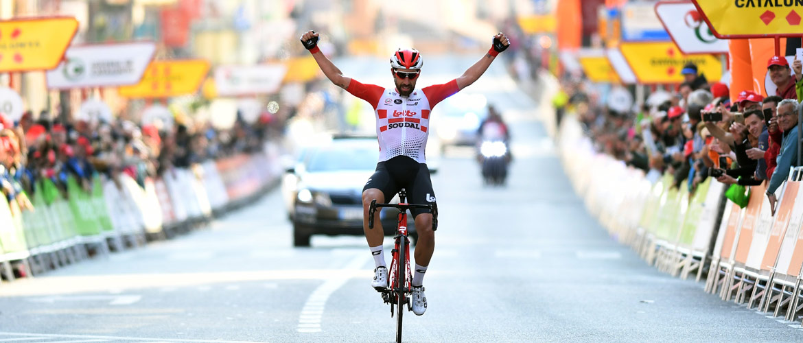 De Gendt wins the first stage of the Volta a Catalunya
