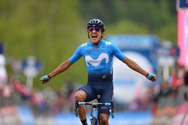 Richard Carapaz is the new Maglia Rosa!