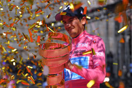 Carapaz wins the Giro d'Italia