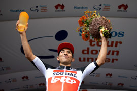 Caleb Ewan wins Tour Down Under stage 2