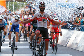 Gaviria wins again at San Juan