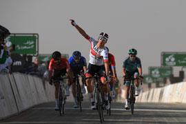 Rui Costa wins Saudi Tour stage 1