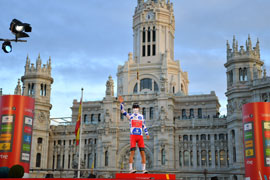 Guillaume Martin is the best climber of Vuelta a España