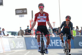 Pogačar dominates UAE Tour 2021 stage 3