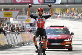 Thomas De Gendt wins Volta a Catalunya stage 5