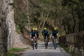 Meet Team Cinelli Smith at Campagnolo HQs
