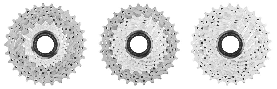 Products Campagnolo NEW 11-SPEED 12-29 CASSETTE: LOTS OF COMBINATIONS WITH A SINGLE REAR DERAILLEUR