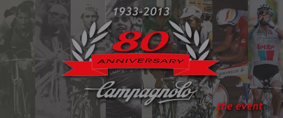 Events Campagnolo Campagnolo celebrates 80 years of history and passion