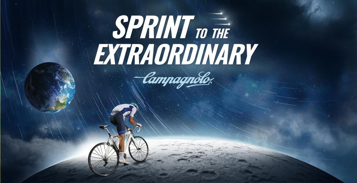 Sprint to the Extraordinary with Campagnolo