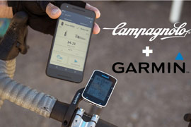 Garmin supports Campagnolo EPS V3