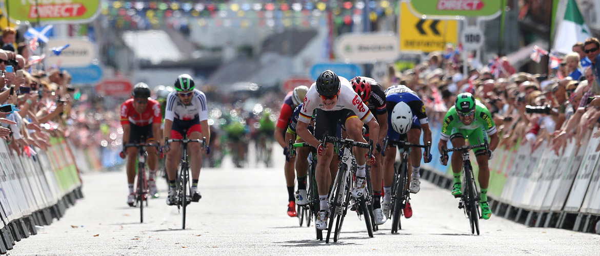 Greipel wins opening stage Tour of Britain