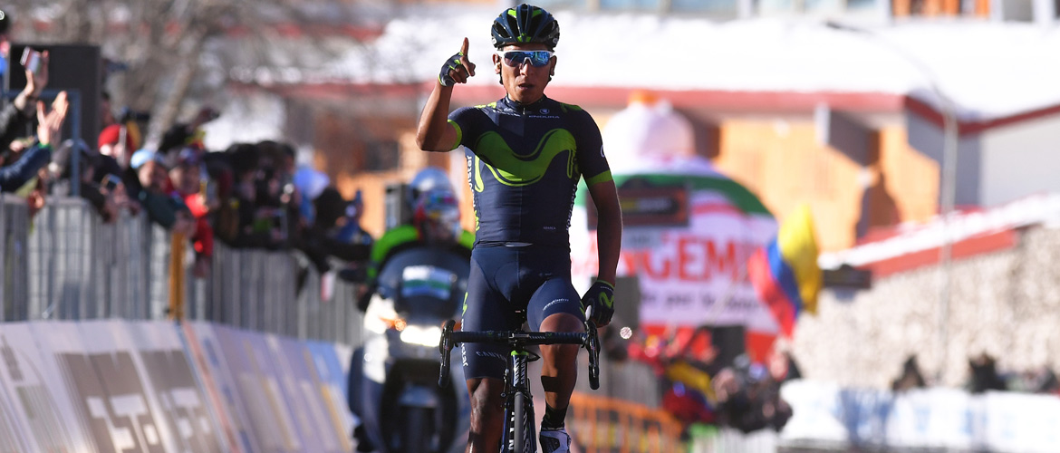 "Nairo Quintana wins ""Race of the Two Seas"""