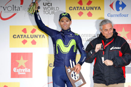 Valverde wins Volta a Catalunya stage three