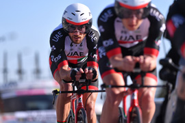 Campagnolo is alongside UAE Team Emirates