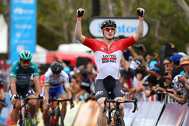 Second stage win for André Greipel at Santos Tour Down Under