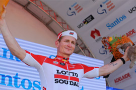 Greipel wins Tour Down Under stage 1