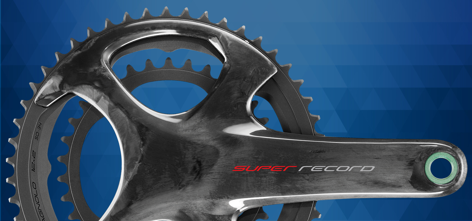 Super Record 12x2 Speed crankset - banner