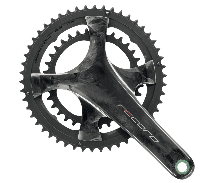 Record crankset 12x2 Speed