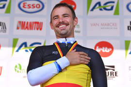 Victor Campenaerts is the new Belgian Time Trial champion