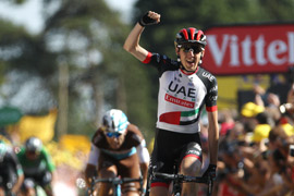 Martin wins Tour de France stage 6