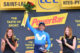 Nairo Quintana wins Tour de France stage 17