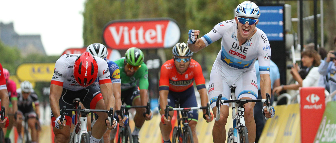 Kristoff wins Tour de France stage 21
